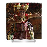 Beauty Of The Barong Dance 2 Shower Curtain