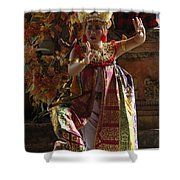 Beauty Of The Barong Dance 3 Shower Curtain