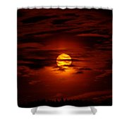 Beauty Of The Sun And Clouds Shower Curtain