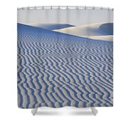 Patterns White Sands New Mexico Shower Curtain