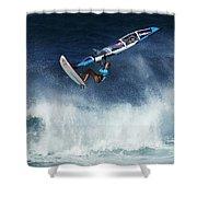 Beauty Of Windsurfing Maui 1 Shower Curtain