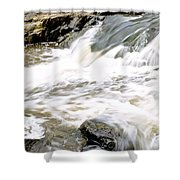 Beauty On The Eno River Shower Curtain
