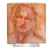 Beauty Thy Name Is Color Shower Curtain
