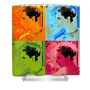 Beauty Times Four Two Shower Curtain