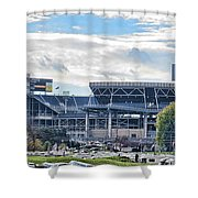 Beaver Stadium Game Day Shower Curtain