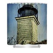 Beavertail Lighthouse  Shower Curtain