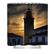 Beavertail Lighthouse Too Shower Curtain