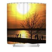 Beaverton Sunrise Shower Curtain