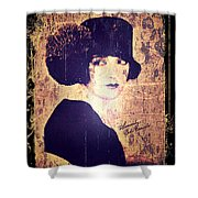 Bebe Daniels - 1920s Actress Shower Curtain