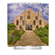 Becker Vineyards Winery Shower Curtain