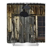 Becket Barn Shower Curtain