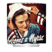 Become A Nurse Shower Curtain