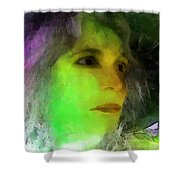 Becoming Elphaba Shower Curtain