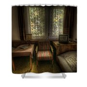 Bed For Two Shower Curtain