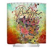 Bedazzled Shower Curtain by Amy Stewart