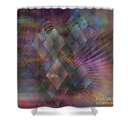 Bedazzled - Square Version Shower Curtain
