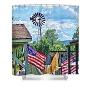 Bedford Village Pennsylvania Shower Curtain