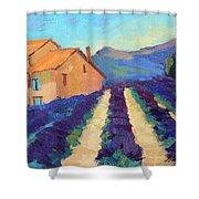Bedoin - Provence Lavender Shower Curtain