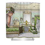 Bedroom In The Renaissance Style Shower Curtain