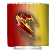 Bee 2 Shower Curtain