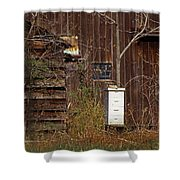 Bee Keepers Venue Shower Curtain