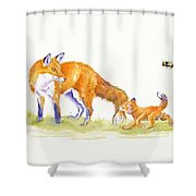 Bee-loved Shower Curtain