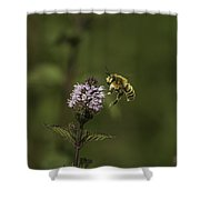 Bee Pollination Shower Curtain