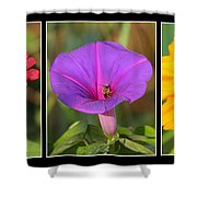 Bee Triptych Shower Curtain