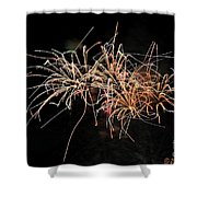 Bee Works Shower Curtain