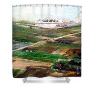 Beechcraft Bonanza Shower Curtain