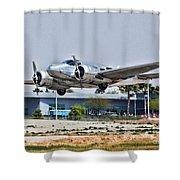 Beechcraft D-18 Shower Curtain
