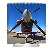 Beechcraft T-6a Texan II  Shower Curtain