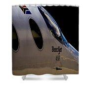 Beechjet 400 Shower Curtain