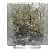 Beedelup Falls Shower Curtain