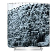 Beed's Lake Dam Shower Curtain