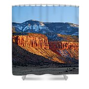 Beef Basin - Utah Landscape Shower Curtain