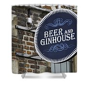 Beer And Ginhouse Shower Curtain
