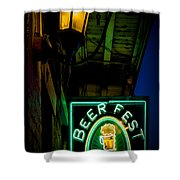 Beer Fest And Lamp Shower Curtain