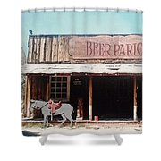 Beer Parlor Shower Curtain