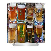 Beers Of Europe Shower Curtain