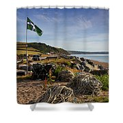 Beesands Shower Curtain