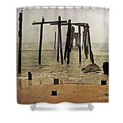 Before Sandy Shower Curtain