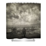 Before Storm Shower Curtain