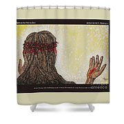 Before The Mercy Seat Shower Curtain