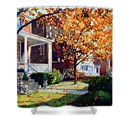 Before The Snow Falls Shower Curtain