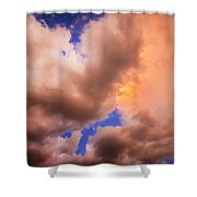Before The Storm Clouds Stratocumulus 5  Shower Curtain