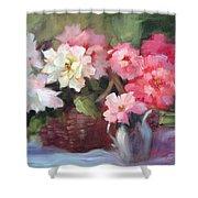 Begonias Shower Curtain