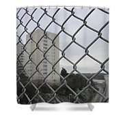 Behind Bars Shower Curtain