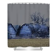 Behind The Barn Shower Curtain