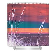 Behind The Sea Oats Shower Curtain